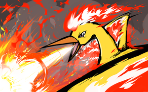Moltres | Fire Spin by ishmam