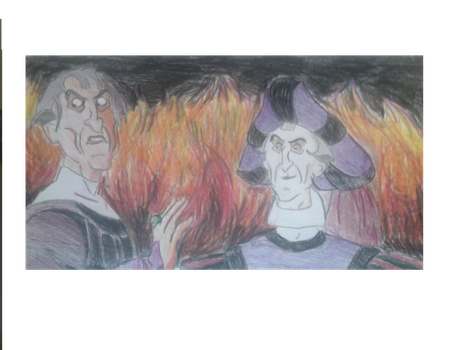 Frollo B Day Gift With Added Flames by FireNationPhoenix