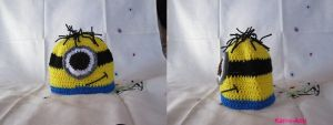 Minion Baby Hat by Kame-ami
