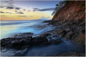 Costa Rican Shoreline by tourofnature