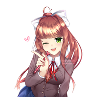 Monika by Nya-mii