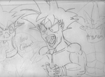 Awesome Hair Goku by OniRocu