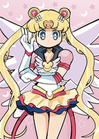 Eternal Sailor Moon by Kell0x