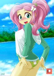Swimsuits Shy [Rash guard] by uotapo