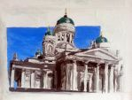 The Helsinki cathedral by Dauganor