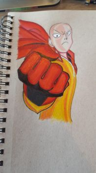 Onepunchman by CartoonWatch
