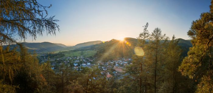 sunset over perstejn by Elly0001
