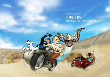 The Adventures of Tintin by monster3x