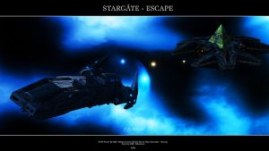 Stargate - Escape by Mallacore