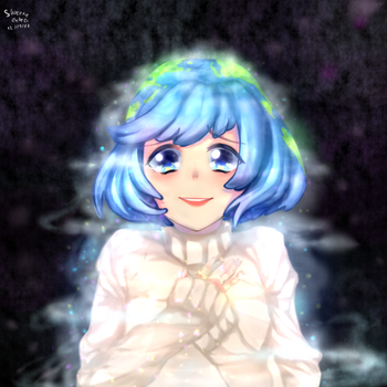 Earth Chan by Sweetie-Cube