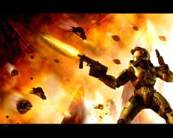 Halo 2 Wallpaper by igotgame1075