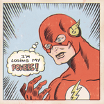 LOSING MY POWERS by paintmarvels