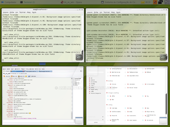 openSUSE 10.2 - Compiz 1 by Amilmawen