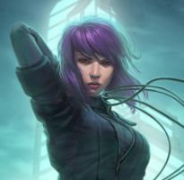 Kusanagi Crop by AnthonyFoti