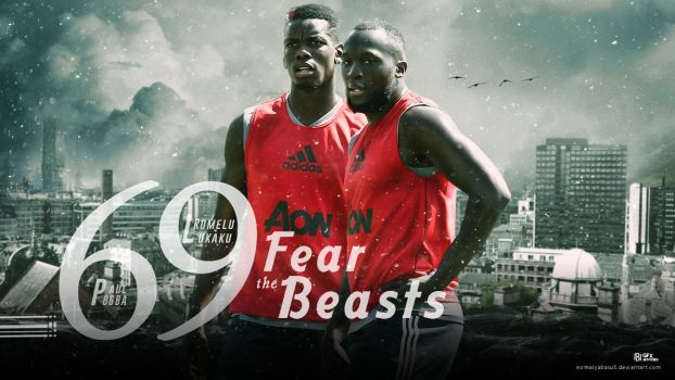 Pogba and Lukaku - The beasts of Man Utd by nirmalyabasu5