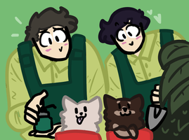 Planting Puppers by pipa00