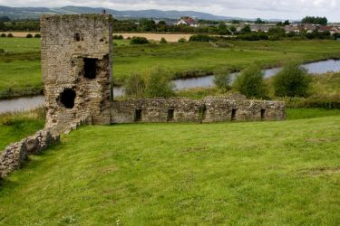 Ruined Castle Stock 1 by Sheiabah-Stock