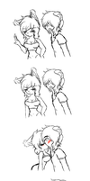 Mika Y Reynam (mini comic) by NanaMariana22