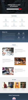 Perfection-free Html Template by Grafreez