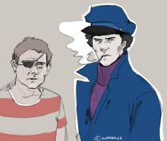 Sherlock: The Great 'Mouse' Detective. by superfizz
