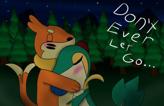 Dont't Ever Let Go... by VisionarySerpent
