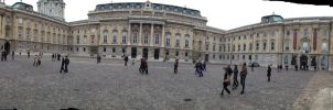 Buda Castle panorama by setanta5