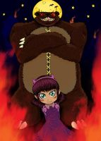 Have you seen my bear Tibbers -Color- by o-LAZy-o
