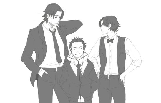DC: Wear A Suit by kitten-chan