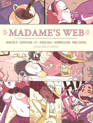 MADAME'S WEB: 24 page paycomic! by Cavitees