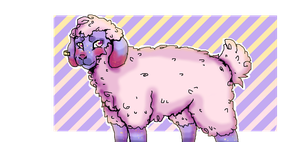 Colorful sheep by Derpzo33