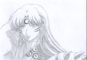 sesshomaru redraw by Angelcat37