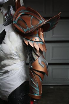 Armored Sorceress, He-Man wip by cimmerianwillow