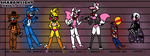 [Shadowlight] - FNaF 2 Lineup (Part 1) by TwilightTheRaven
