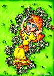 The first daisies of the spring by ninpeachlover