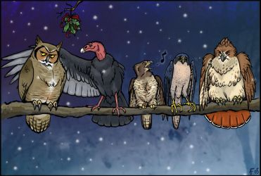 A Wild Bird Clinic Christmas by lyosha
