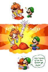 so I heard Daisy confirmed for the new SSB by Finni-NF