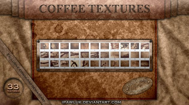 COFFEE TEXTURES PAWLUK by ipawluk