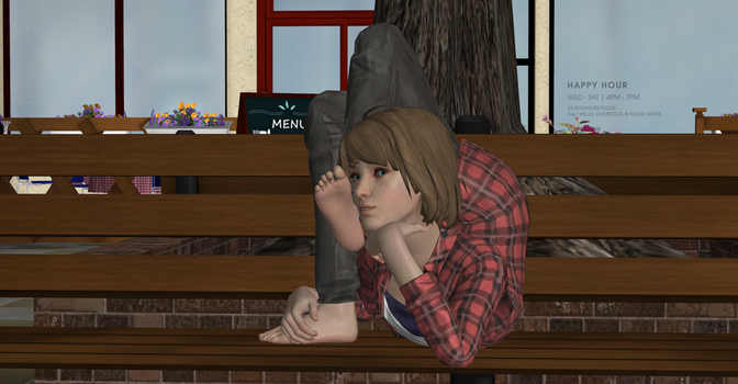 Max Caulfield. Contortion Time 3 by serango