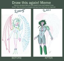 Of Colour - Re-Draw Meme by fruits-basket-head