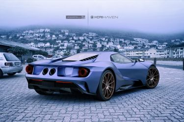 Ford GT by jackdarton