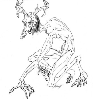 Wendigo by lacewing
