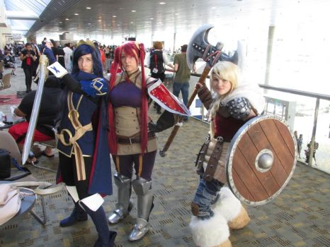 Lucina, Severa, and Astrid Hofferson (Otakon 14) by Lucy0566