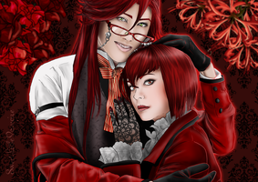 The Rose and the Lycoris by SweetLittleVampire