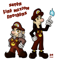 Super Fire Nation Brothers by Booter-Freak
