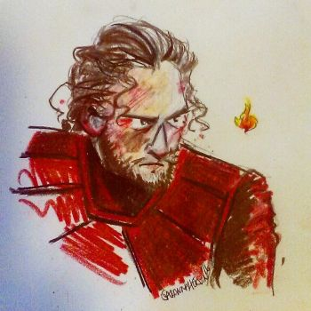 Jon Snow - He knows nothing by Savannah-ERVIN