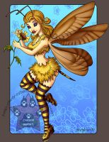Bee Fairy Commission by lady-cybercat