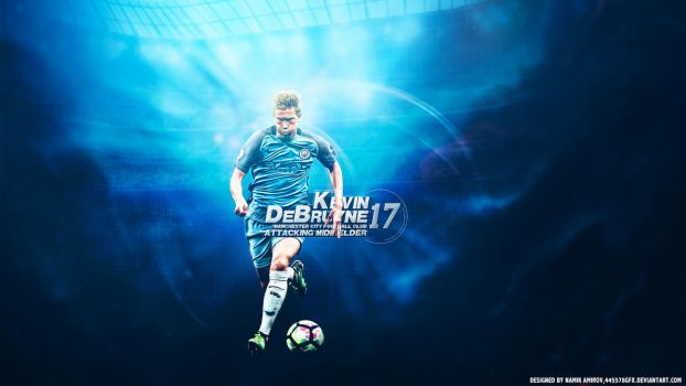 Kevin De Bruyne 17 by namo,7 by 445578gfx