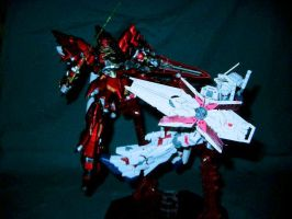 HG Sinanju fully painted by TribalBunny13