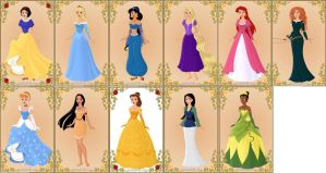 Offical Disney Princesses by TFfan234