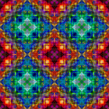Spirits of the Forest Mandala 1 - Inverted Quad by EyeOfHobus